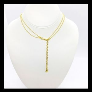 BaubleBar Jewelry - BaubleBar Layered Pendant Necklace goldtone